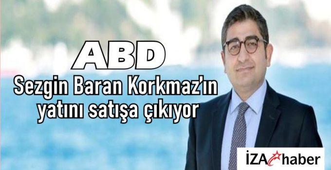 Sezgin Baran Korkmaz'ın yatını satışa çıkıyor