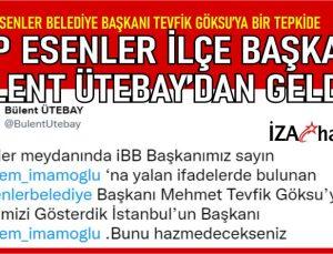 """ÜTEBAY , TEVFİK GÖKSU'YA """"YALAN SÖYLÜYORSUN"""" DEDİ"""