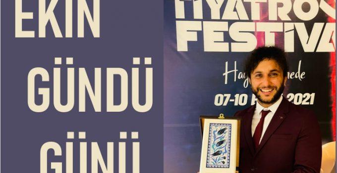 Maltepe Uluslararası Tiyatro Festivali'nde Ekin Gündü ödül aldı